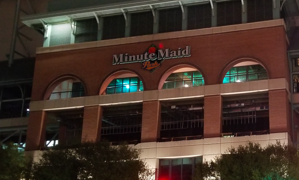 Astros Trampa Minute Maid Park
