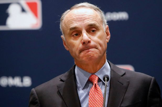 Photo of Rob Manfred no tolerará pelotazos intencionales para con los Astros (+Video)