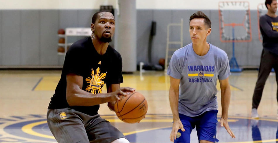 Photo of Steve Nash se reencuentra con Kevin Durant en Brooklyn