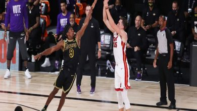Photo of Duncan Robinson: de eslabón débil a pesadilla de los Lakers