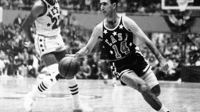 Photo of Cousy, la estrella que brilló más en el MSG en 1954